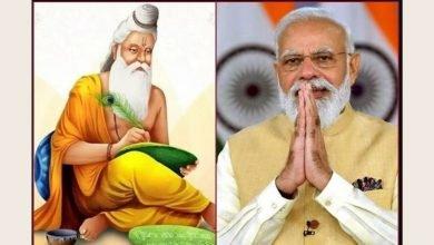 PM bows to Maharishi Valmiki on Valmiki Jayanti