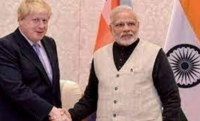 PM speaks on telephone with His Excellency Boris Johnson, Prime Minister of the United Kingdom