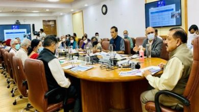 Union Minister Dr Jitendra Singh reviews the progress of Special Campaign launched on 2nd October for disposal of pendency in Government of India